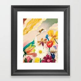 Self Promotion Framed Art Print