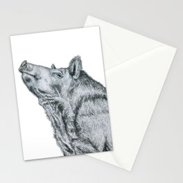 First, take a long jog, then reward yourself by eating like a hog! Stationery Cards