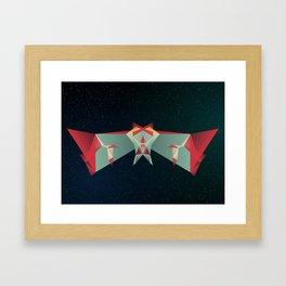I'm Scared To Fly Framed Art Print