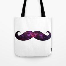 Space mustache Tote Bag