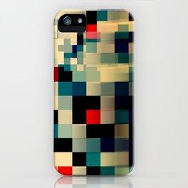 Patchwork III iPhone Case