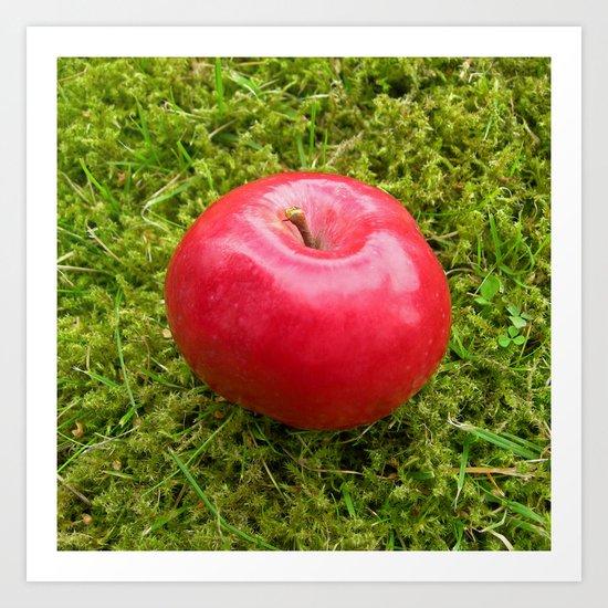 red apple II Art Print