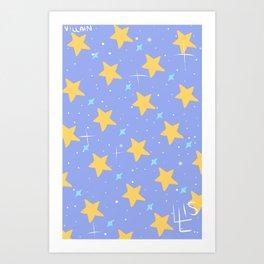 Sleepy Galaxy Art Print