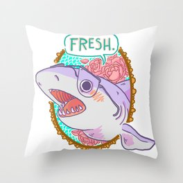 Fresh! Throw Pillow