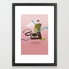 ILOVEMUSIC #4 Framed Art Print