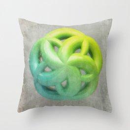 Anaglyph // Pentamerism Throw Pillow
