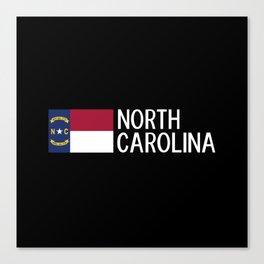 North Carolina: North Carolinian Flag Canvas Print