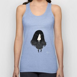 Alexia Chan in the middle of the galaxy Unisex Tank Top