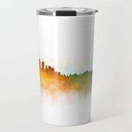 Sydney City Skyline Hq v3 Travel Mug