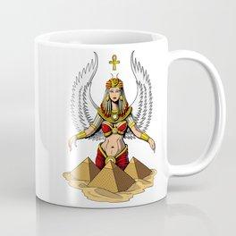 Egyptian Goddess Isis Ancient Queen Coffee Mug