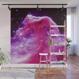 Horsehead Nebula Pink & Purple Wall Mural