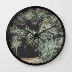 Palm Tree Jungle Wall Clock