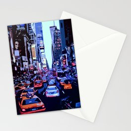 Through the streets of New York City Stationery Cards