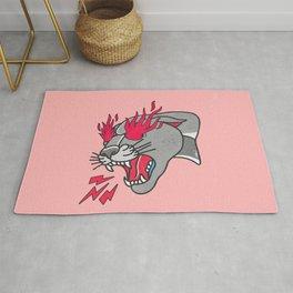 Panther Flame Rug