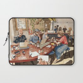 Evveryday Coffee Cafe Laptop Sleeve