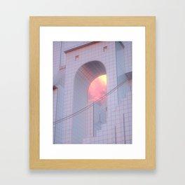 Bunkyo-ku Architecture Framed Art Print