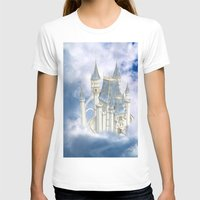 fairytale T-shirts featuring Fairytale Castle by Simone Gatterwe
