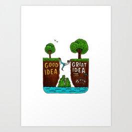 Great Idea Art Print