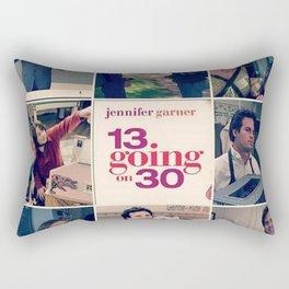 13 going on 30 Rectangular Pillow