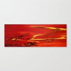 Flyingin in the wind Canvas Print