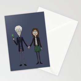 Twelfth & Clara (Burton style) Stationery Cards
