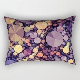 Purple Berries Rectangular Pillow