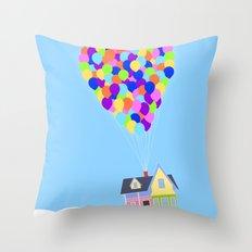 UP!  Throw Pillow