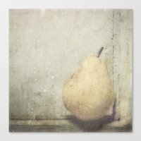 pear Canvas Prints featuring PEAR by Studio2