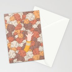 Kirk's Trouble With Tribbles (Star Trek) Stationery Cards