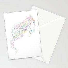 Rainbow Mane Stationery Cards