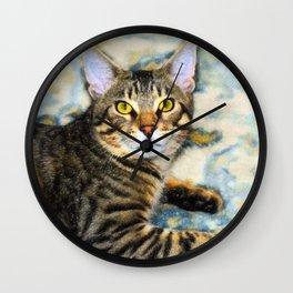 Bengal Tom Wall Clock