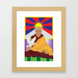 His Holiness Framed Art Print