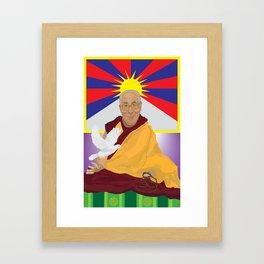 His Holiness Framed Art Print