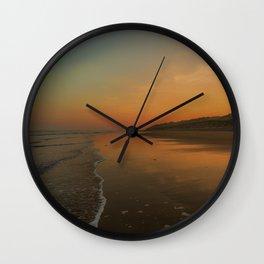 Summer morning Wall Clock