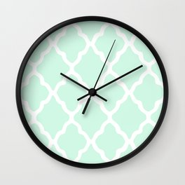 White Rombs #11 The Best Wallpaper Wall Clock