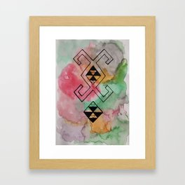 WANDERLUST - TAMAZIGHT Framed Art Print