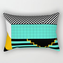 Den Haag Print Rectangular Pillow