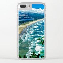 Seascape Manzanita Clear iPhone Case