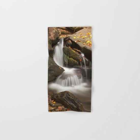 Crescent Crater Falls Hand & Bath Towel