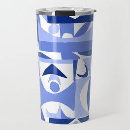 tango in blue ... Travel Mug