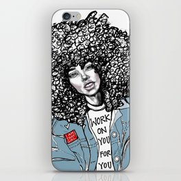 #STUKGIRL ALIANA iPhone Skin