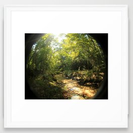 creeky Framed Art Print
