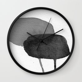 Two Stones Wall Clock