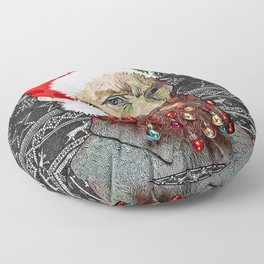 Vincent van Santa Floor Pillow