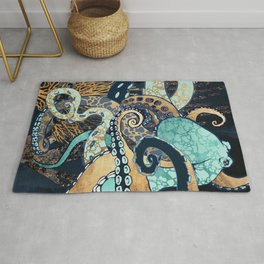 Metallic Octopus II Rug