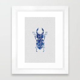 Blue Beetle III Framed Art Print
