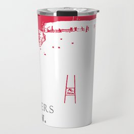 Ski Racing - Winners Train Losers Complain - Red Travel Mug