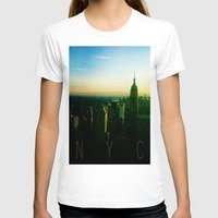 nyc T-shirts featuring NYC by Tristan Tait