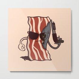 The Baconator Metal Print