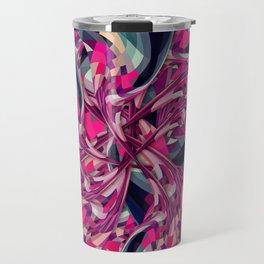 Purple Spiral Travel Mug